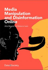 Cover for Media Manipulation Report by Alice Marwick
