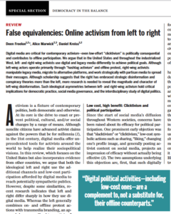 """Image of the """"False Equivalencies"""" report as printed in Science Magazine"""