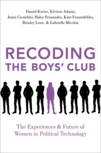 Cover image of Recoding the Boys' Club book