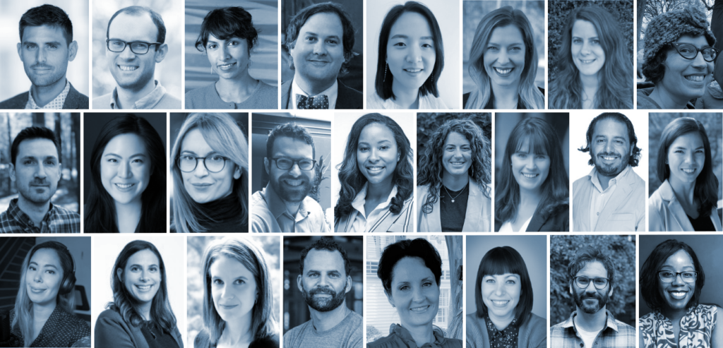collage of portraits representing the faculty and postdoctoral affiliate community